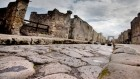 Roadworks ahead: Pompeiians patched potholes with iron