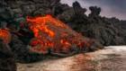 Volcano's magma hit top speed
