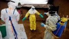 Ebola responders killed as violence flares