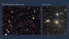 Galaxy cluster illuminates the cosmic dark ages