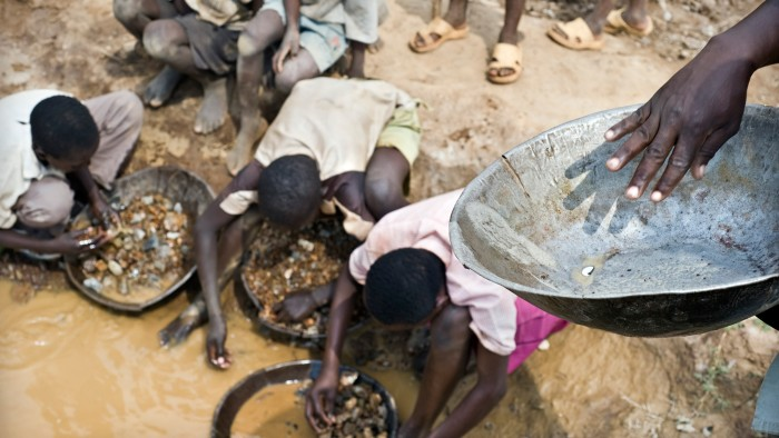 Small-scale gold mining often uses mercury that is then released to the environment.