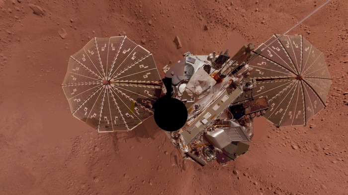 The Phoenix lander operated on Mars in 2007 and 2008, hunting for water.