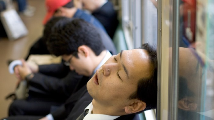 A sleep deficit slows brain cells and may lead to people taking impromptu naps.